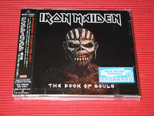 2015 IRON MAIDEN THE BOOK OF SOULS JAPAN 2 CD SET