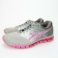 Asics Gel Quantum 180 Womens Pink Gray Running Training Shoes T6G7N Size 8.5 M