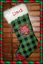 Custom Personalized Christmas Stocking ~ Made in CANADA
