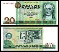Germany 20 Mark , 1975 , P 29 UNC ***