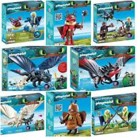 PLAYMOBIL DREAMWORKS DRAGONS HOW TO TRAIN YOUR DRAGON HIDDEN WORLD ASSORTMENT