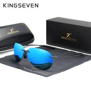 New Ultralight TR90 Rimless UV400 Polarized High Quality Frameless Sun Glasses