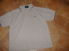 FRED PERRY MENS POLO SHIRT,SIZE L, G/C,DESIGNER MENS POLO SHIRT/TOP