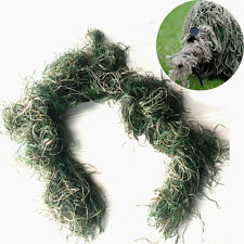 3D Woodland Camouflage Rifle Gun Wrap Cover For Yowie Ghillie Sniper Paintball
