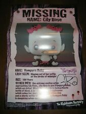 Vamplets G-RA Signed Lily Rose Vampyre Baby Poster Gloomvania SDCC Comic Con