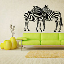 Wall Vinyl Sticker Bedroom Decal Modern Decal Zebra Animal Horse Equine (Z2615)