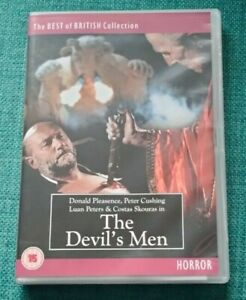The Devil's Man 1976 Collector's Edition (2011 DVD) With Viewing Notes
