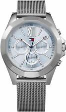 Reloj TOMMY HILFIGER CHELS THW1781846 Acero Inoxidable Mesh Gris Azul Unisex