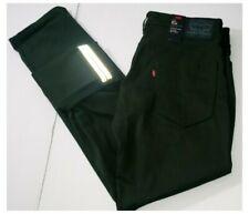 Levis Premium 511 Commuter Jeans Slim 34x32 Green Reflective Biker $74