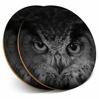 Graphic Owl Design Food Drink Serveware Happy Owls Round Serving Tray Tin
