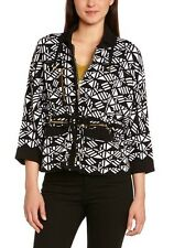 KOOKAI WOMEN'S GRAPHIC NOT APPLICABLE 3-4 SLEEVE CARDIGAN - Size UK10/BRAND Size
