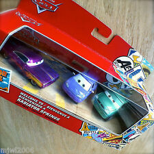 Disney PIXAR Cars MINI & VAN 'WELCOME TO RADIATOR SPRINGS' CLASSIC diecast 3PK