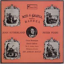 HANDEL: Acis & GalateaL'Oiseau-Lyre, UK BOULT Box SutherlandSOL 60011/12 NM LP