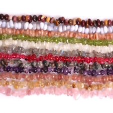 """5-8mm Natural Freeform Chip Stone Craft Beads For Jewellery Making Strand 34"""" CA"""