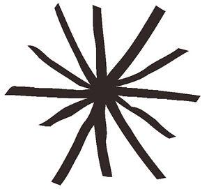 Kurt Vonnegut asterisk vinyl decal sticker Mother Night sticker
