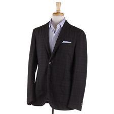 NWT $1845 BOGLIOLI Olive Glen Check Washed Wool 'K Jacket' Suit 38 R (Eu 48)