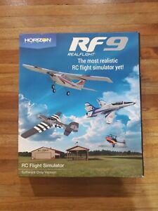 RealFlight RF9 RC Flight Simulator Software Only RFL1101 Horizon Hobby