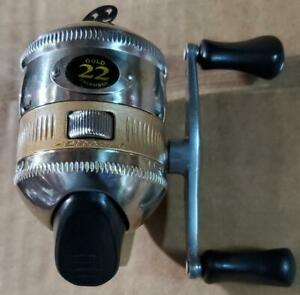 Vintage Zebco 22 Gold Spincast Reel New Old Stock in Box