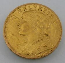 SCHWEIZ - 20 Franken Gold - Vreneli - 1913 B  [92070]