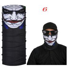2017skull Clown Ski Cycling NECKTUBE Scarf Face Mask Balaclava Bandana Halloween 6
