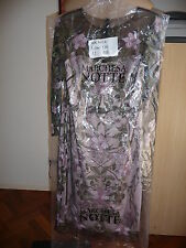 MARCHESA NOTTE - Embroidered Tulle Cocktail Dress Lilac- BNWT US12