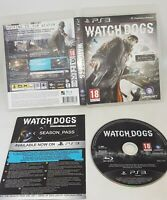 Watchdogs (Playstation 3 Game) Ps3 Game VGC FAST POST
