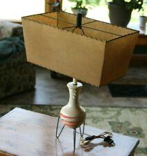 Vintage Mid-Century Modern Art Pottery Table Lamp  MCM