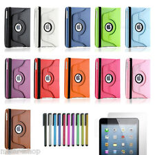 Cover Custodia 360 per Apple iPad 2017 (iPad 9,7) Ecopelle + Pennino + Pellicola