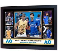 New Rafael Nadal Signed Limited Edition Memorabilia Framed