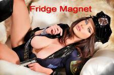 Sexy Hot Brunette Model Girl Bikini Fridge Tool Box Magnet Refrigerator M28