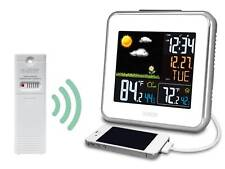 308-146W La Crosse Technology Wireless Atomic Color Weather Station USB TX142TH