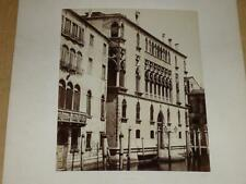 NAYA / VENISE VENEZIA 1870 Palazzo Giovanelli VINTAGE Albumen Print Photo Foto