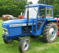 Leyland Tractors 255 270 (344 384) Shop Service Repair Manual Operation On CD