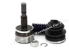 FOR NISSAN NAVARA D40 FRONT DRIVE SHAFT OUTER CV JOINT BOOT KIT LEFT or RIGHT