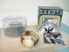 NOS Dakota Watch Jean Paul 2009 Japan Quartz in Clear Case Requires New Battery
