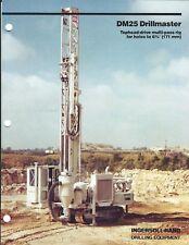 Equipment Brochure - Ingersoll-Rand Dm-25 Drillmaster Drill 1983 Mining (E4747)