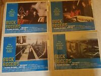Buck Rogers 25th Century Lobby Cards 4 Complete Excellent Condition Gerard