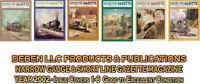 2002 Narrow Gauge & Short Line Gazette Six Magazine Set-Free Priority USPS Mail