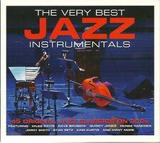 THE VERY BEST JAZZ INSTRUMENTALS - 45 ORIGINAL CLASSICS - 3 CD BOX SET