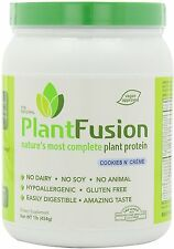 PlantFusion Multi Source Plant Protein, Plant Fusion, 1 lbs Cookies and Cream