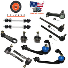 Ford F150 2wd Ball joint Control Arm Tie Rod End Pitman Idler 2.5 Kit 1997-2003