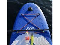 2x praktischer Clip für Paddel - Stand Up Paddle / Kayak Zubehör