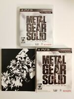 Metal Gear Solid: The Legacy Collection PS3 Complete W/ Artbook Tested