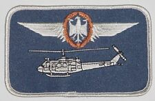 Ricamate patch namemsschild ELICOTTERO BELL uh-1d pilota in bronzo... a3628