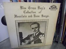 Blue Grass Roy's Collection Mountain Songs LP 1977 Old Homestead Records VG+