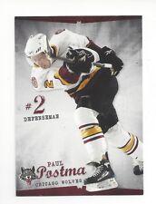 2009-10 Chicago Wolves (AHL) Paul Postma (Ak Bars Kazan)