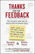 More details for thanks for the feedback: the science and art of receiving fee... by heen, sheila