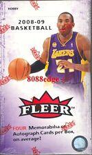 2008-09 08-09 FLEER NBA HOBBY BOX -WESTBROOK/ROSE ROOKIE RC/MICHAEL JORDAN AUTO