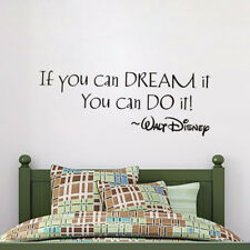 Wall Sticker Home Art Decor Decal Mural Kids Room Wall Stickers Inspiring Quotes