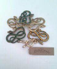 Lucky Brand Snake Charmer Serpent $75 Toggle Bracelet  FOS020